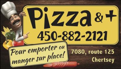 Pizza & + - Greek Restaurants - 450-882-2121