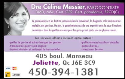 Dre Céline Messier Parodontiste - Dentistes