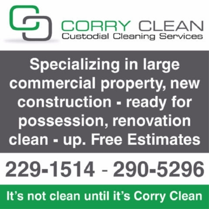 Corry Clean - Dry Cleaners - 306-229-1514