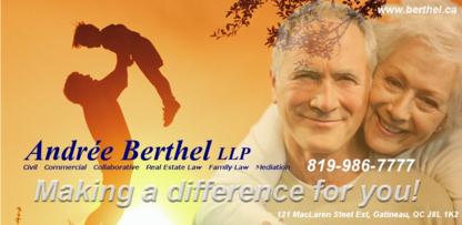 Me Andrée Berthel - Family Lawyers - 819-986-7777