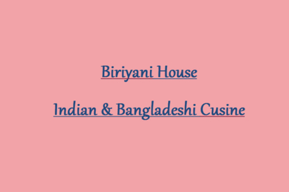 Biriyani House - Indian & Bangladeshi Cuisine - Asian Restaurants - 306-202-8741