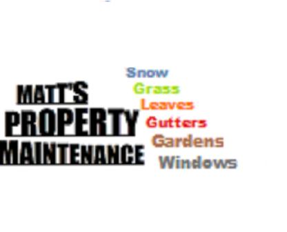 Matt's Property Maintenance - Property Maintenance - 705-768-6658