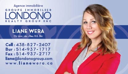 Liane Wera - Courtier Immobilier - Real Estate Broker - Courtiers immobiliers et agences immobilières - 438-827-2407