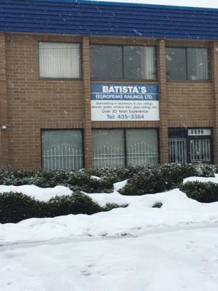 Batista's European Railings - Security Bars & Grilles
