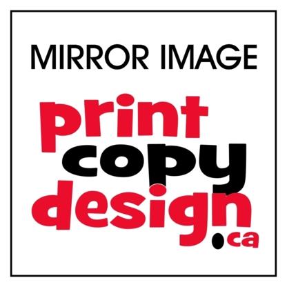 Mirror Image / Print Copy Design - Copying & Duplicating Service
