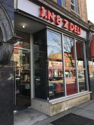 J N & Z Deli - Delicatessens
