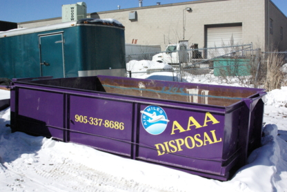 AAA All Commercial & Residential Disposal Services - Collecte d'ordures ménagères - 905-337-8686