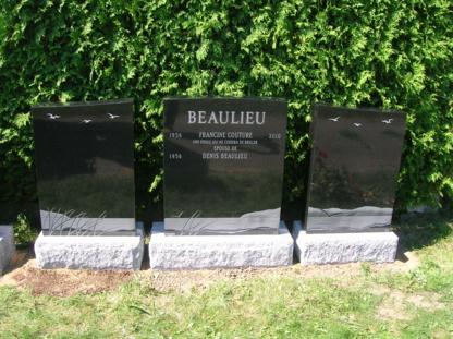 Granite Lacroix Inc - Monuments et pierres tombales