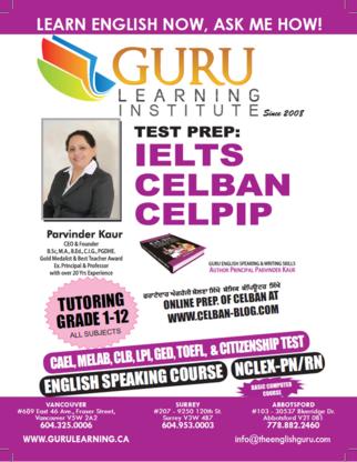 Guru Learning Institute - Tutoring