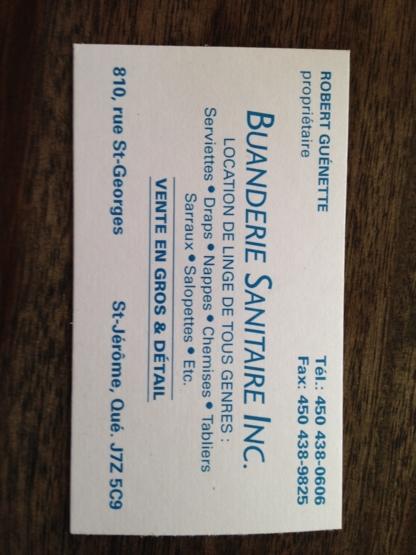 View Buanderie Sanitaire Inc's Saint-Janvier profile