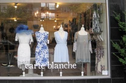 Carte Blanche Boutique - Boutiques