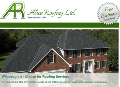 Alice Roofing - Couvreurs