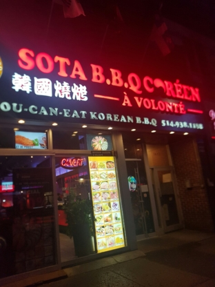 Sota BBQ Coréen - Restaurants - 514-938-1188