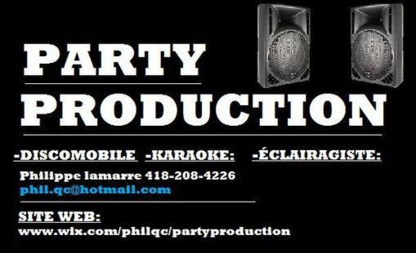 Party Production - DJ Karaoke Animation Éclairage - Dj Service - 418-208-4226