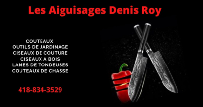 Aiguisage Denis Roy - Caterers