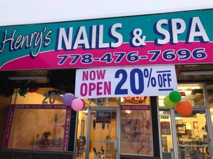 Henry Nail & Spa - Nail Salons - 778-476-7696
