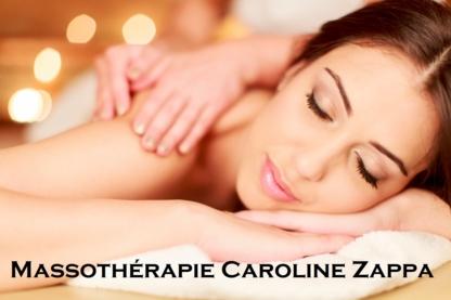 Massothérapie Caroline Zappa - Massage Therapists - 438-887-3529
