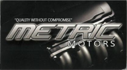 Metric Motors - Car Repair & Service - 905-837-8936