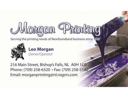 Morgan Printing - Imprimeurs