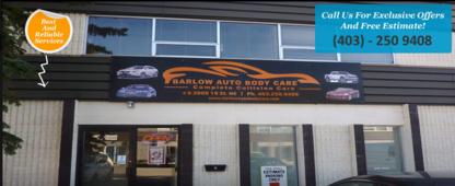 Barlow Auto Body Care Ltd - Réparation de carrosserie et peinture automobile - 403-250-9408