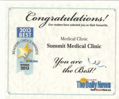 Summit Medical Clinic - 250-374-9800