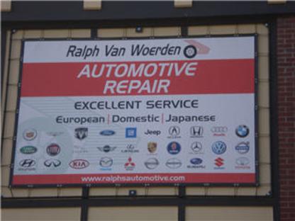Ralph Van Woerden Automotive Repair - Car Repair & Service