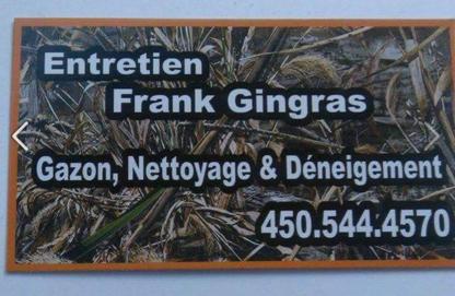 Entretien Frank Gingras - Lawn Maintenance - 450-544-4570
