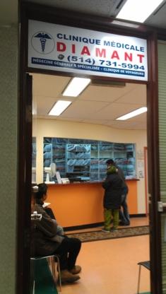 Clinique Médicale Diamant - Cliniques médicales - 514-744-9881