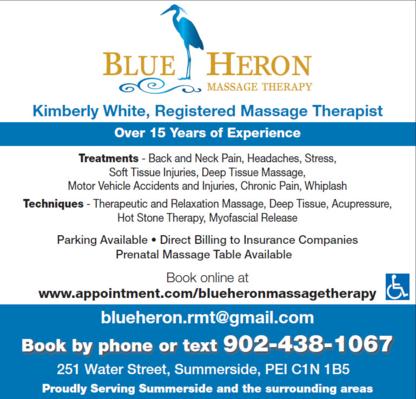Blue Heron Massage Therapy - Registered Massage Therapists