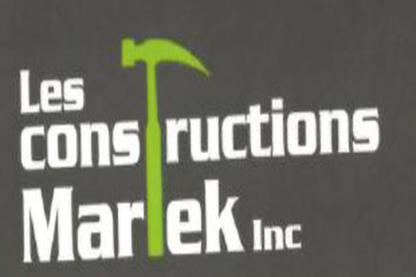 Les Constructions Martek - Entrepreneurs généraux