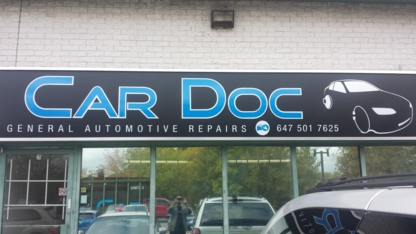 Car Doc - Car Repair & Service - 647-501-7625