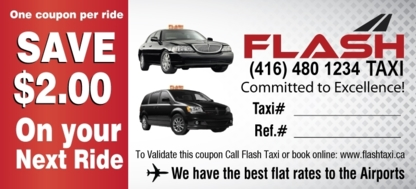 Flash Taxi - Taxis - 905-426-3456