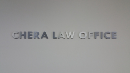 Chera Law Office - Bankruptcy Lawyers - 905-848-4878