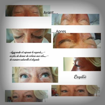 Exquise Beauté Esthétiques - Eyelash Extensions - 514-850-9474