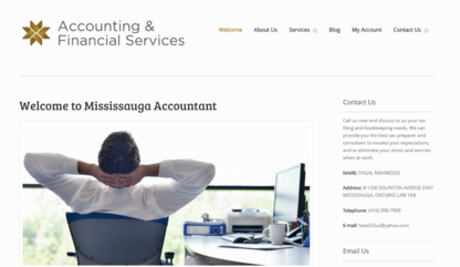 Mississauga Accountants - Tax Consultants - 416-998-7909