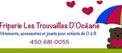 Les Trouvailles D'Océane - Friperies - 450-681-0055