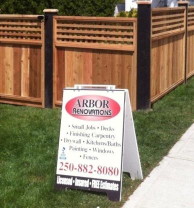 Arbor Renovations - Home Improvements & Renovations - 250-882-8080