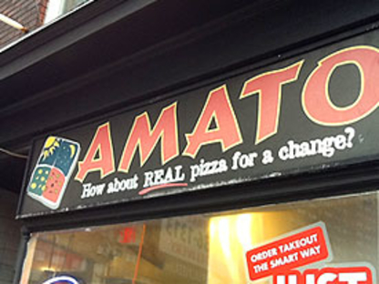 Amato Pizza - Vegetarian Restaurants - 416-657-9090
