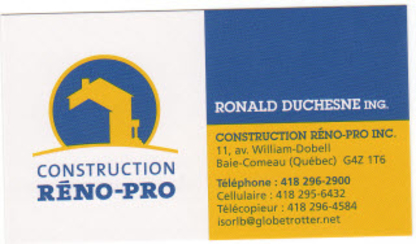 Construction Réno-Pro Inc - Home Improvements & Renovations