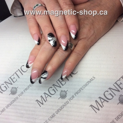Magnetic Nail Design - Hairdressing & Beauty Courses & Schools - 778-265-8585