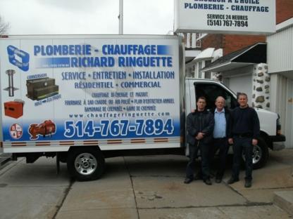 Plomberie et Chauffage Richard Ringuette Inc - Entrepreneurs en chauffage