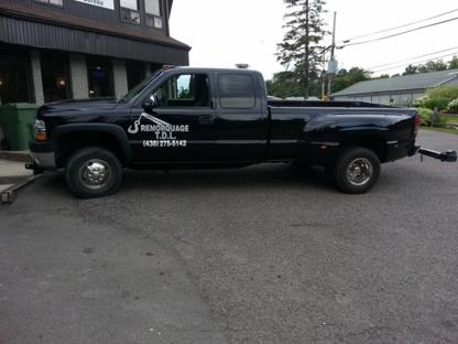 Remorquage T.D.L. - Remorquage de véhicules - 438-275-5142