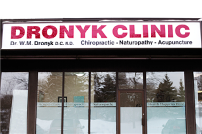 Dronyk Clinic - Chiropractors DC - 519-894-0024
