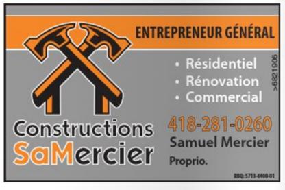 Constructions Samercier - General Contractors