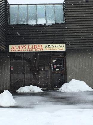 Alans Label Co - Paper Labels