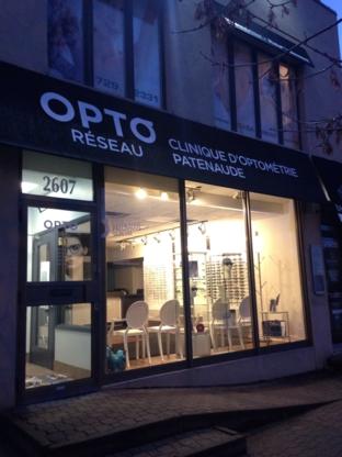 Opto-Réseau - Clinique d'Optométrie Patenaude - Optical Products