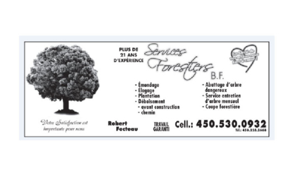Services Forestiers BF - Tree Service