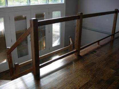 Rung & Rail Stair Railings - Railings & Handrails