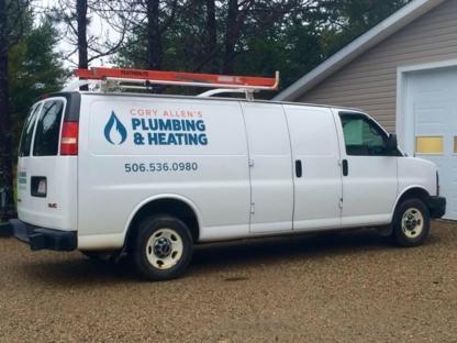 Cory Allen's Plumbing & Heating - Plombiers et entrepreneurs en plomberie - 506-536-0980