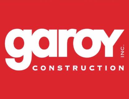 Garoy Construction Inc - Conception et gestion de projets - 418-661-1754